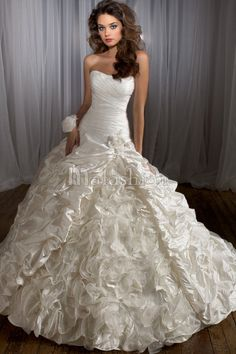 robe de mariée bustier | Photo de Mariage