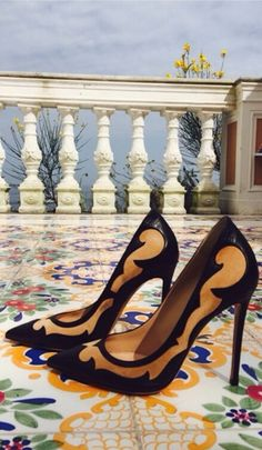 Gianvito Rossi What a gorgeous statement.