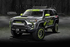 ArtStation - Toyota 4 Runner SEMA 2015, Matt Bernal