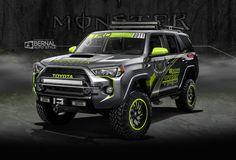 ArtStation - Toyota 4 Runner SEMA 2015, Matt Bernal