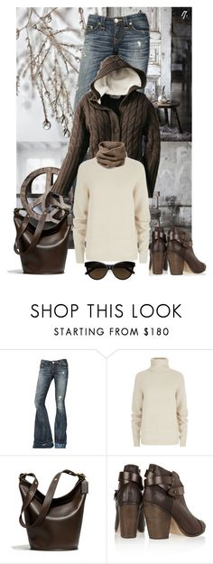"""""""Untitled #1290"""" by gallant81 ❤ liked on Polyvore featuring True Religion, Maje, Coach, rag & bone and Lafayette 148 New York"""