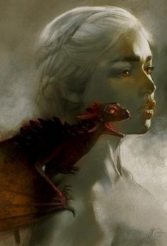 ✯ Artist Massimo Carnevale ✯ Deanerys Game of Thrones fanart