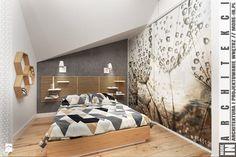 Ruda śląska - zabudowa szeregowa - Sypialnia, styl nowoczesny - zdjęcie od More IN