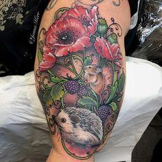 #wildlife sleeve #tattoo #jennakerr