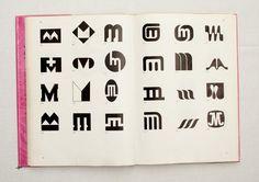 050.jpg (1600×1130)  TRADE MARKS & SIMBOLS Volume 1: Alphabetical Designs   YASABURO KUWAYAMA #logo #design #Inspiration #graphic #shape #best #awesome #typography #best #pactice