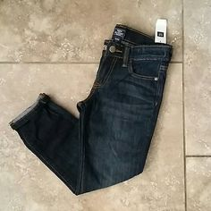 NWT GAPKIDS GIRLS JEANS Brand new with tags. Dark rinse skinny boyfriend cut jeans from GapKids. 69% cotton, 30% polyester and 1% elastane. Smoke free home. THESE ARE GIRLS YOUTH JEANS. GAPKIDS Jeans Skinny