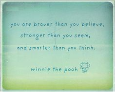 Inspiration from Pooh Bear. $15.99, via Etsy.
