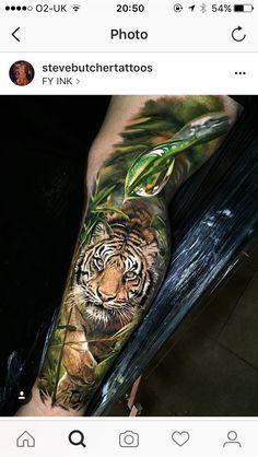 Steve Butcher Tattoo