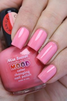 Lechat Mood Changing Gel Polish From The Top Midnight Pearl Sunset Beach Tidal Wave Skies