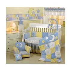 Le 4 Piece Bedding Star Themed Nursery Decor Boy