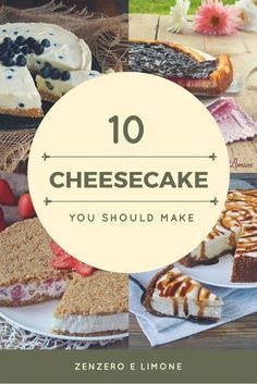 10 cheesecake you should make American Cheesecake, Cheesecake Cupcakes, Food Out, My Dessert, Pie Cake, Sweet Cakes, Creative Food, Let Them Eat Cake, Cake Recipes