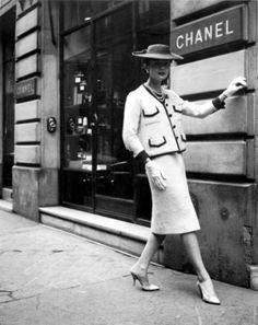 tailleur Chanel, década de 60