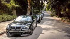 BMW E60 M5 metallic grey