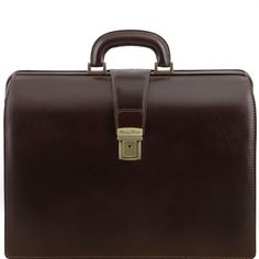 Canova Leren dokterstas - zakentas met 3 compartimenten - TL141347 - Tuscany Leather