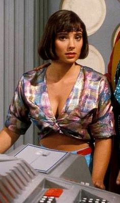 Women Of Doctor Who : Nicola Bryant as Peri Brown.