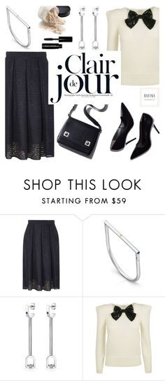 """""""Clair de jour"""" by helenevlacho ❤ liked on Polyvore featuring Dorothy Perkins, Yves Saint Laurent and Bobbi Brown Cosmetics"""