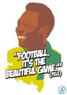 Pele-Football by jatiesphobia.deviantart.com on @DeviantArt