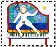 Dorothy Iannone I Play it again, 2007