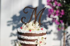 Hey, I found this really awesome Etsy listing at https://www.etsy.com/listing/216977442/monogram-wedding-cake-topper-wooden