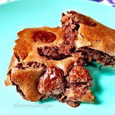 Brownie com biomassa de banana verde e farinha de arroz