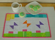 Dash into Spring placemats