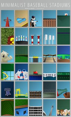 Can You Identify The Baseball Stadium From The Minimalist Poster?