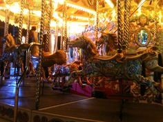 Merry-go-round on Brighton Palace Pier