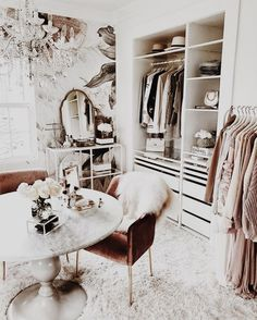 From Pinterest | Storage Inspiration: 6 Beautiful Dressing Rooms