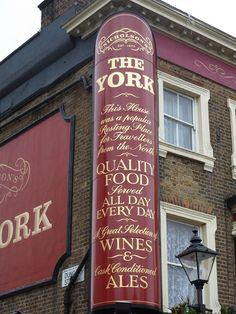 Pub front London