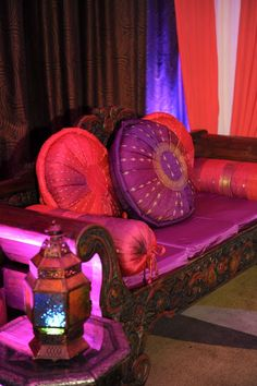 Moroccan Dream // I love the colors in this - would love a room with all these things in it.: