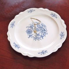 Vintage Tidbit Tray with Handle -  Sheffield by HouseofLucien, $35.00