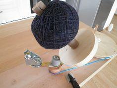 DIY Yarn ball winder. Hmm.