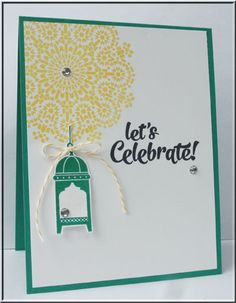 Moroccan Nights, lantern, Confetti Celebrations, Stampin' Up!, #stampinup, #onstage2016, created by Connie Babbert, www.inkspiredtreasures.com