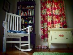 nursery with book shelf