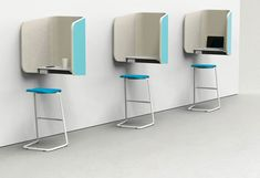 iBooth by Peter Pepper Products | Hotdesking / temporary workspaces