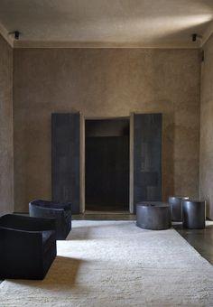 4 Enchanting Moroccan Villas by French Duo Studio KO - Photo 3 of 10 - Interiors of Villa D Interior Exterior, Best Interior, Modern Interior, Home Interior Design, Modern Decor, Muebles Living, Interior Minimalista, Living Room Modern, Living Rooms