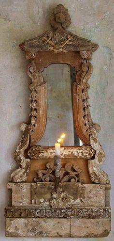 french antique mirror...