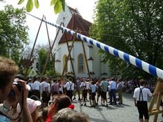 May Day, orErster Mai.It's a state holiday, at least in Bavaria.  Pinned by www.mygrowingtraditions.com