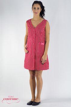 Weiteres -  Kleid Schürze Kittel Adelheid/ Tupfenkleid - ein Designerstück von Kittelcouture bei DaWanda