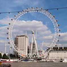Looks set to be a phenomenal weekend here in London #london #londoneye #friday #weekend 😎