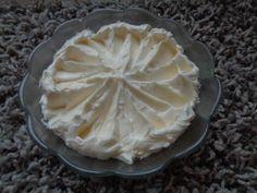 Recepty - Bílkový máslový krém - swiss meringue - Lanškrounské dortíky Michaely Dolníčkové - Cukrářské recepty Swiss Meringue, Frosting, Butter, Pudding, Pie, Cream, Desserts, Food, Flan