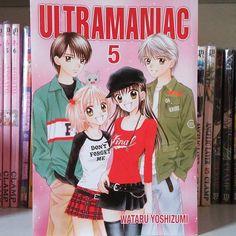 Ultramaniac volume 5 e último ... Mangá mahou shoujo da Wataru Yoshizumi, mesma manga-ká de Marmalade Boy... Também tem resenha no blog (link no perfil). Além de Marmalade Boy, PxP e Spicy Pink no blog tem resenha e dica de downloads de outras obras da Wataru que não foram lançadas aqui. #wataruYoshizumi #ultramaniac #editorapanini #manga #resenha #shoujo #mahoushoujo #kawai #geek #otaku