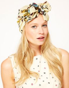 Schön im Juli Beauty Fashion Turban
