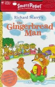 Scarry, The gingerbread man, classic, classic tale,