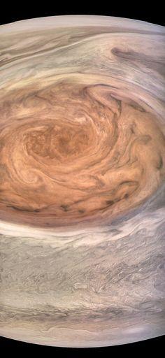 Jupiter's Great Red Spot - Juno Perijove 7