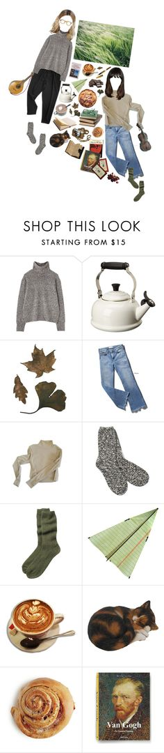 """As The Cold Wind Blows"" by silentmoonchild ❤ liked on Polyvore featuring Margaret Howell, Le Creuset, M.i.h Jeans, TNA, Toast, PRIVATE LIVES and S.T. Dupont"
