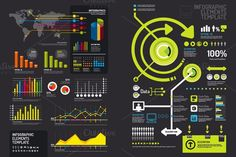 infographics set and Information. Business Infographic. $18.00