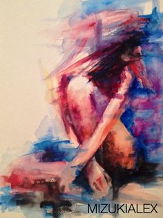 Watercolor by Mizukialex