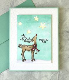 Today I am sharing lots of techniques you can do with the new Spellbinders Glimmer Foil Machine. If you are a fan of adding shine to your cards (like I am! Jennifer Mcguire Ink, Miss You Cards, Winter Cards, Christmas Cards, Diy Christmas, Card Making, Paper Crafts, Craft Tutorials, Card Ideas