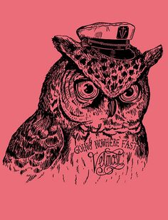 'Captain Owl' by mostrico (Alejo Giraldo)
